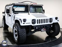 1995 Hummer H1 Open Top 1995 Hummer H1 Open Top 16377 Miles Flat Pearl White 4D Sport Utility 6.5L V8 16
