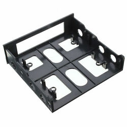 3.5quot; to 5.25quot; Drive Bay Computer PC Case Adapter Mounting Bracket USB Hub Floppy $3.99