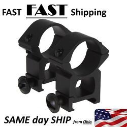 20mm Weaver Rail Mount 1quot; scope mount or tactical flashlight mount 1 inch $19.97