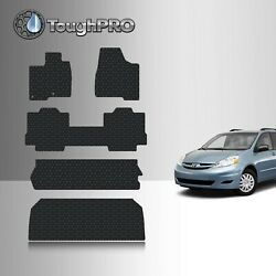 ToughPRO Full Set Black For Toyota Sienna 8 Seater All Weather 2004-2010