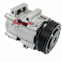 AC Compressor For 01-07 Ford Escape  Mazda Tribute CO 101450C  4L8Z19V703CA