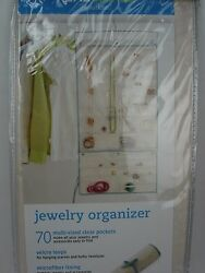 NWT Real Simple Solutions Jewelry Organizer Space Saving Ivory