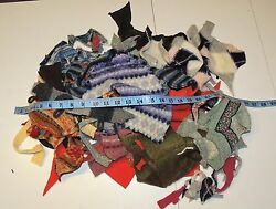 15 oz Felted Wool Scraps Sweaters Designs Knit Project Crafts Upcycle Cut Lot 4