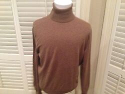 $1170 Tom Ford  Cashmere Turtleneck Sweater  hand made in Italy