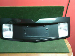 2003 - 2007 Cadillac CTS trunk finish panel license plate pocket 457219 Charcoal