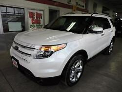2013 Ford Explorer 4WD 4dr Limited 2013 Ford Explorer 4WD 4dr Limited 64537 Miles White Platinum Metallic Tri-coat