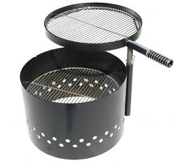 Volcano Grills Outdoor Fire Pit Grill Dutch Oven Cooking Charcoal Backyard BBQ