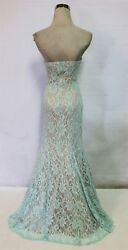 SEQUIN HEARTS Mint Party Prom Formal Gown 7 $130 NWT $38.77