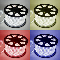 LED Strip 220V 240V IP67 Waterproof 3528 Commercial Lights Rope WhiteBluePink