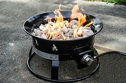 Fire Pits On Sale Outdoor Fireplace Kits Propane Portable Patio Gas Heat Garden