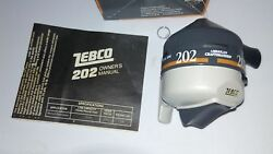 new vintage IN BOX Zebco 202 Reel made in the USA $19.99
