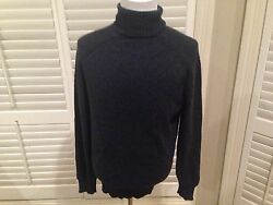$1390 Tom Ford  Cashmere Turtleneck Sweater  hand made in Italy