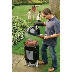 Weber Smokey Mountain BBQ Grill Stove Oven Party Gift Outdoor Indoor Camping