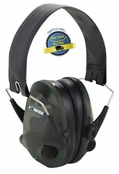 Electronic Ear Protection Hearing Muffs Impact Sound Sport Earmuffs Shooting E R