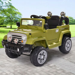 12V Kids Ride On Truck Off Road Battery Powered Electric Car with Remote Control $149.99