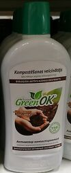 750ml GreenOK ORGANIC COMPOSTING ACTIVATOR $12.98