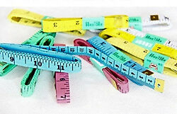 Tape Measure Tailor Sewing Flexible Ruler Colors Pack 10 Sewing Notions Supplies