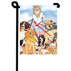 All Wrapped Up Garden Flag $21.95