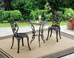 Patio Bistro Sets Clearance Table And Chairs Outdoor Garden Deck Furniture Metal