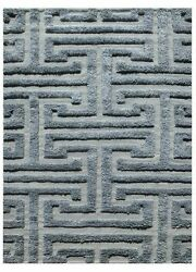 5x8 Rectangle Area Rug Modern 100% Wool Hand-Knotted Mineral
