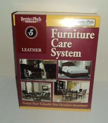 Leather Furniture Care System Protection Kit NEW SEALED