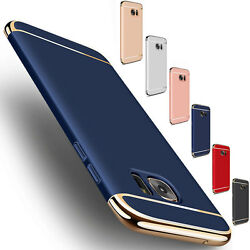 For Samsung Galaxy S7  Edge Slim Shockproof Hybrid Hard Electroplate Case Cover