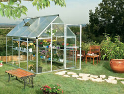 Greenhouse Kits Mini Gardening Supplies Patio Build Polycarbonate Panels Framed