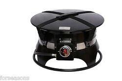 Propane Fire Pit Portable Firebowl Outdoor Gas LP Camping Cover Carrying Kit NEW
