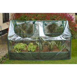 Portable Green House Raised Plants Bed Protection Mini Greenhouse Gardening Shed