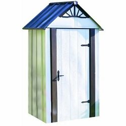 Storage Sheds Storboss SBDSM42 Designer Series HDG Steel Storage Shed 2-Feet