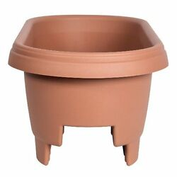 Railing Planters Patio Deck Home Porch Outdoor Balcony Rail Flower Pot Box  24