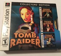 Tomb Raider Collectors' Edition (Sony PlayStation 1 2002) Complete