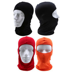 Protection Balaclava Unisex Youth ATV MTB Full Face Racing Neck Cover Polyester $4.19