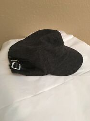 New York & Company Charcoal Gray Wool Hat One Size USED