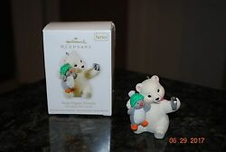 2011 Hallmark Snap Happy Friends #11 Snowball & Tuxedo Series Keepsake Ornament