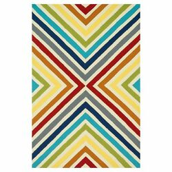 Loloi Palm Springs Indoor  Outdoor Rug Multicolored 9.25 x 13 ft.
