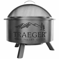 Smokers Traeger OFP001 Outdoor Fire Pit Large Black