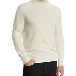 TOM FORD MENS CLASSIC FLAT-KNIT CASHMERE TURTLENECK SWEATER