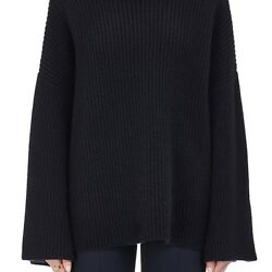 THE ROW WOMENS VIOLINA CASHMERE OVERSIZED SWEATER