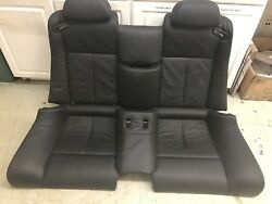 BMW OEM E63 COUPE M6 M 06-10 SET OF SPORT ACTIVE LEATHER HEATED SEATS BLACK