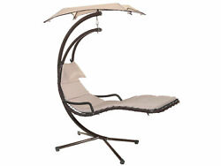 HOME Rocking Chair With Sunshade Garden Furniture