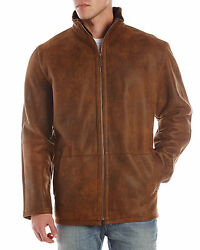 NEW Men's BLUE DUCK Merino SHEARLING COAT Size Large (42-44) MSRP $1995
