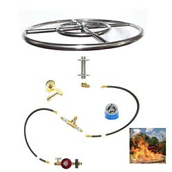 FR12ITCK+: DIY IN-TABLE LP FIRE PIT KIT & 12