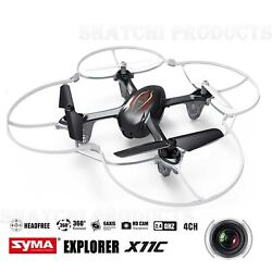 Syma X11C RC Helicopter with Camera 4 Channel Quadcopter Toy Birthday Gift BLACK GBP 39.99