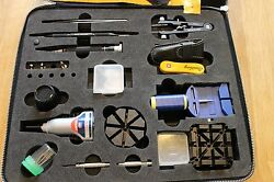 Breitling Field Tool Kit in a Smart Leather Case Great CollectorsEnthusiasts