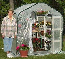 Greenhouse Kit Green House Cover Mini Portable Plastic Clear Supplies Accessorie