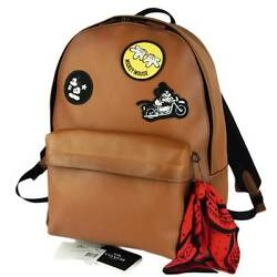 Limited coach x Disney Mickey Leather Back Pack JAPAN