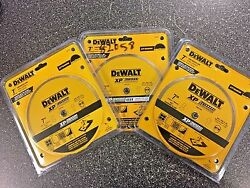 (3) New Dewalt DW4760 7