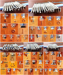 10kinds 54pcs Stainless Steel Leather Craft Master Stamping Stamp Punch Tool Set