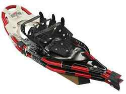 Redfeather V Tail 25quot; SnowShoes Made in USA White Vinyl deck Blk amp; Grey Design $89.99